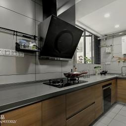 混搭厨房样板房图片