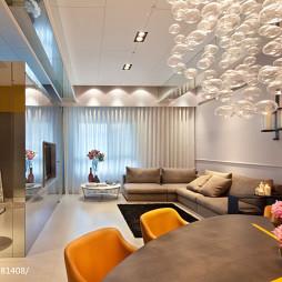 简约风格客厅吊顶装修设计
