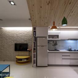 小户型混搭厨房设计效果图