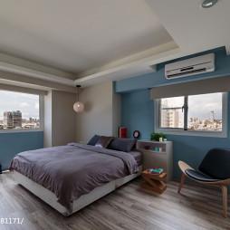 35坪住宅现代卧室设计