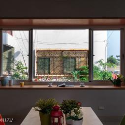 49坪住宅混搭窗台设计