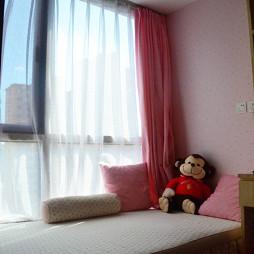 美式儿童房窗帘图片