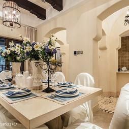 地中海餐厅隔断设计