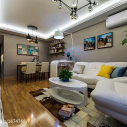 现代客厅装修图设计