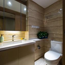 现代卫浴装修图