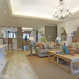 简约美式客厅设计图片
