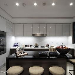 中式厨房样板房设计