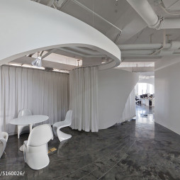 后现代风格办公室隔断设计