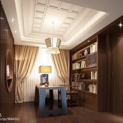 最新书房装修效果图库