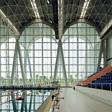 佛山-高明区体育中心设计效果图图片