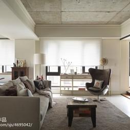 混搭现代客厅装修设计效果图