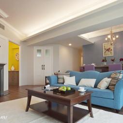 都会美式风格客厅装修设计