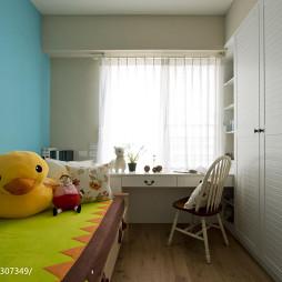 田园乡村儿童房台设计