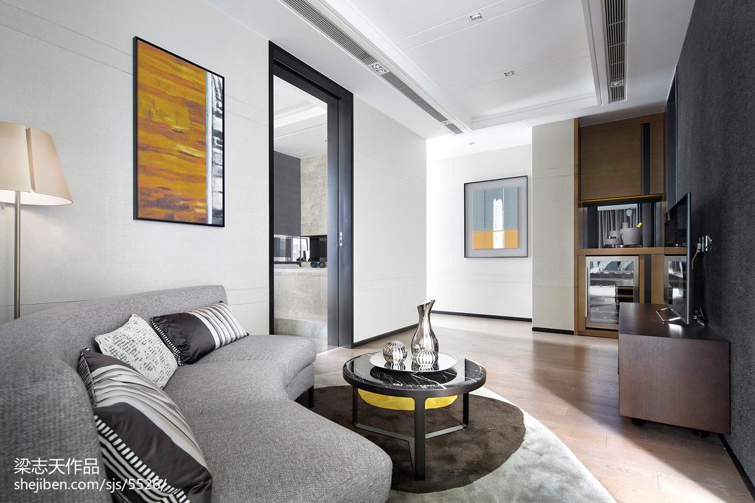 两室两厅效果图_两室两厅装修样板间效果图欣赏 – 设计本装修效果图