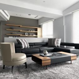 现代样板房装修客厅图片