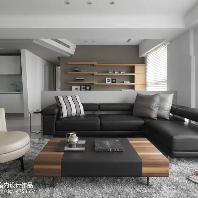仁发汇简约风格私宅设计实景图案例