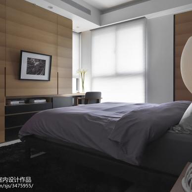 现代样板房装修卧室窗户图片