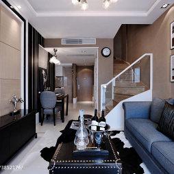 混搭客厅软装样板房设计效果图