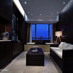 混搭风格小客厅装修效果图片