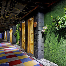 主题酒店走廊设计