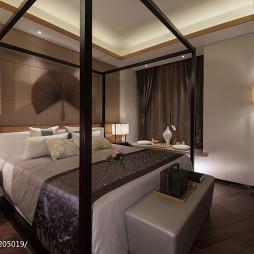 日式卧室样板房设计
