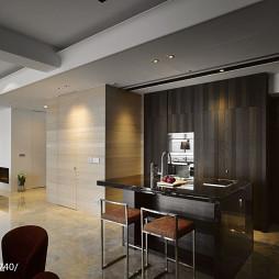 英式优雅住宅吧台设计