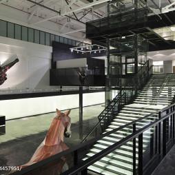 商业展厅楼梯设计