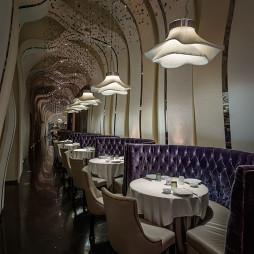高级餐厅吊灯效果图