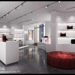 工装时尚奢侈品店设计