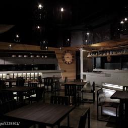 混搭复古餐厅设计