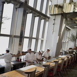 餐厅开放式厨房设计