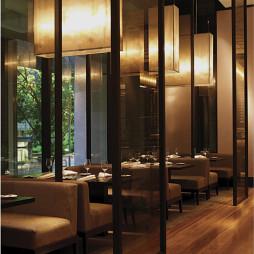 墨尔本凯悦大酒店餐厅屏风设计