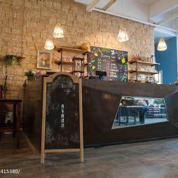 咖啡厅柜台设计效果图