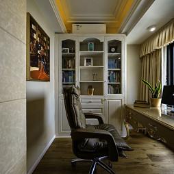 欧式风格书房设计