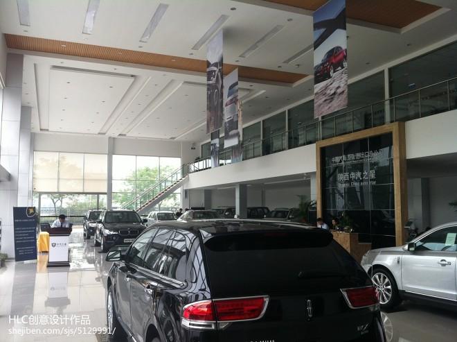 陕西中汽之星展销厅设计效果图片