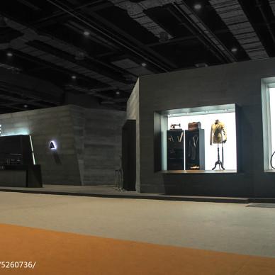 杉杉男装CHIC 2017中国国际服饰服装博览会展馆设计效果图图库