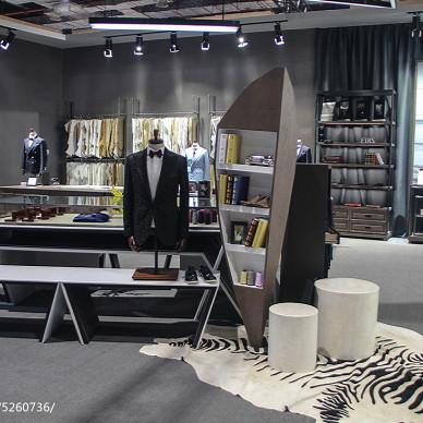 杉杉男装CHIC 2017中国国际服饰服装博览会展馆设计效果图集欣赏