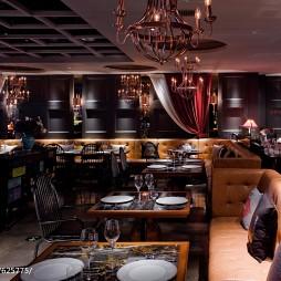 西餐厅餐桌椅装修图片