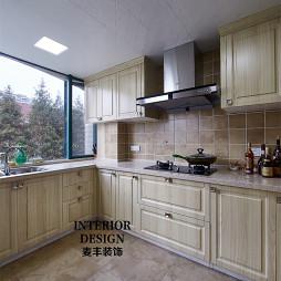 简约美式厨房吊顶装修