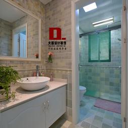 田园浴室装修效果图集汇总