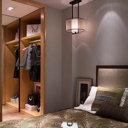 时尚现代卧室衣帽间效果图
