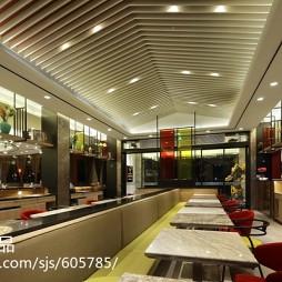 公装茶餐厅餐厅设计