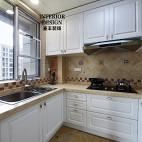 简约美式厨房吊顶设计