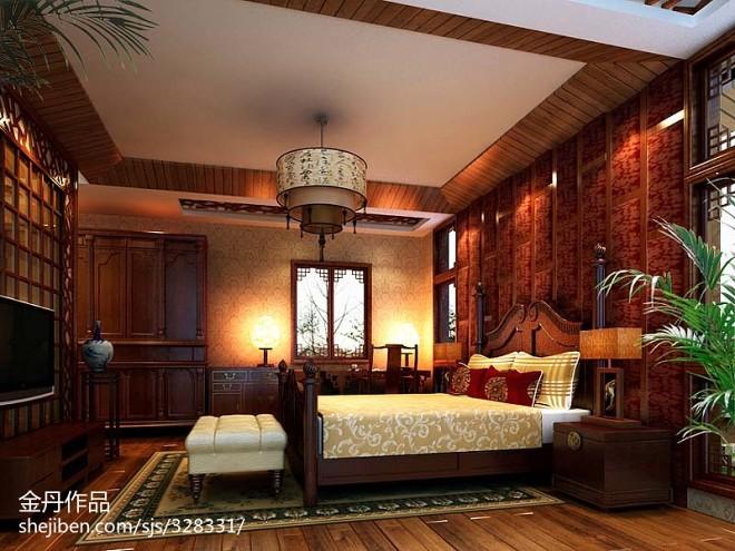 中式别墅会所设计_2083772