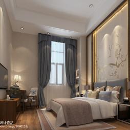 温馨简中酒店客房装修设计_2085099