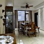 现代中式餐厅吊顶效果图