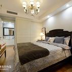 简约美式卧室衣柜设计效果图欣赏
