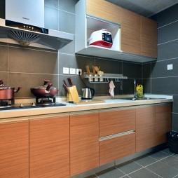 小户型现代厨房装修效果图