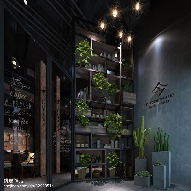 工业复古咖啡馆_2091718