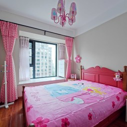 现代儿童房飘窗设计